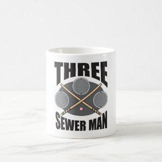 Mug Homme de trois égouts !