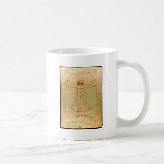 Mug Homme de Vitruvian de da Vinci
