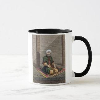 Mug Homme turc, priant, XVIIIème siècle (gravure)