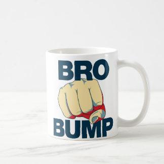 Mug Hommes drôles de bosse de Bro