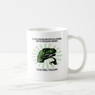 Mug Hommes et femmes de Philosoraptor