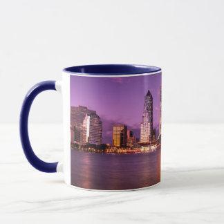 Mug Horizon de Jacksonville la Floride la nuit