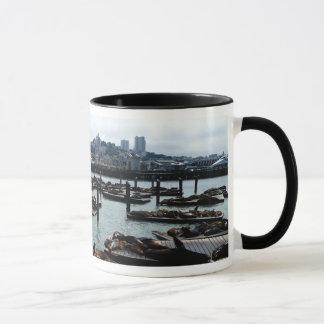 Mug Horizon de ville d'otaries de San Francisco et de