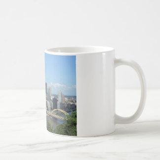 Mug Horizon du centre de Pittsburgh d'antenne