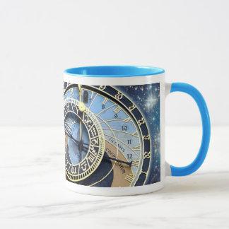 Mug Horloge-Time et espace astronomiques de Prague