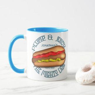 Mug Hot dog puissant de chien personnalisé