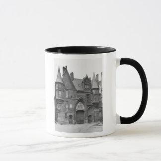 Mug Hotel de Sens, fin du 19me siècle-tôt