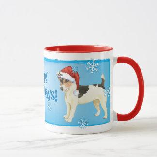 Mug Howlidays heureux Russell Terrier