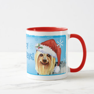 Mug Howlidays heureux Terrier soyeux