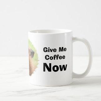 Mug Humour fâché de café de lama drôle