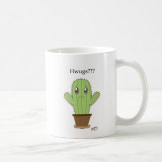 """Mug """"Hwugs ? ? ?"""" Cactus"""