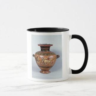 Mug Hydre dépeignant le départ d'un guerrier