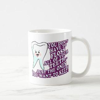 Mug Hygiéniste ou orthodontiste de dentiste