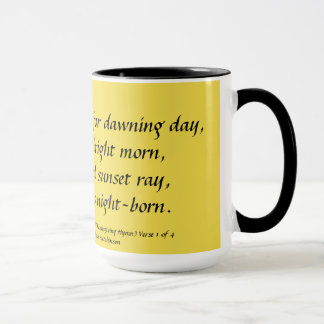 Mug Hymne de thanksgiving