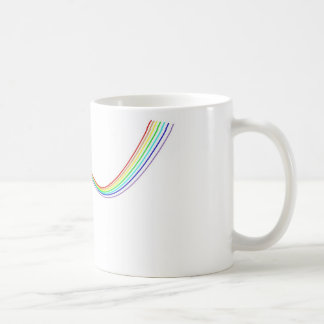 Mug hyperbole arc-en-ciel