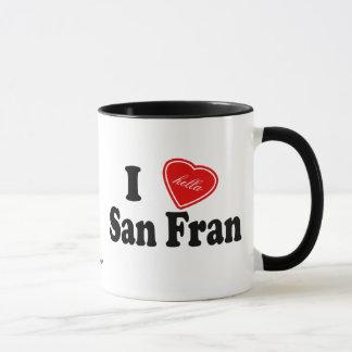 Mug I amour (de Hella) San Fran