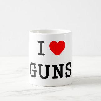 Mug I armes à feu de coeur