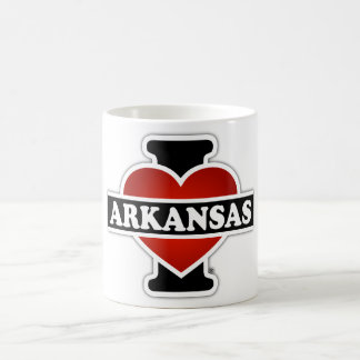 Mug I coeur Arkansas