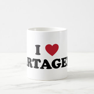 Mug I coeur Carthagène Colombie