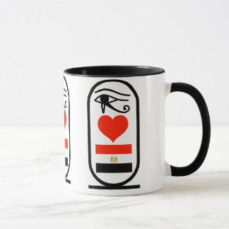 Mug I coeur Egypte