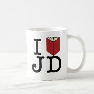 Mug I coeur JD