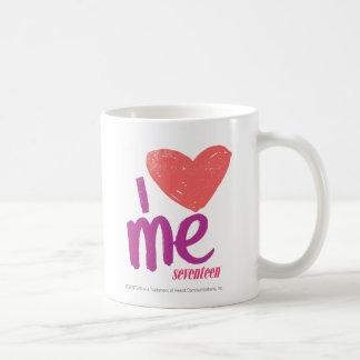 Mug I coeur je rose/pourpre