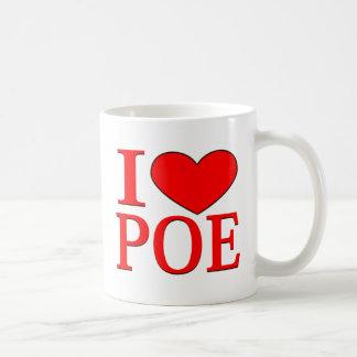 Mug I coeur Poe