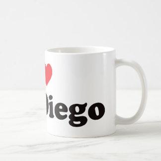 Mug I coeur San Diego