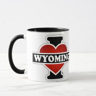 Mug I coeur Wyoming