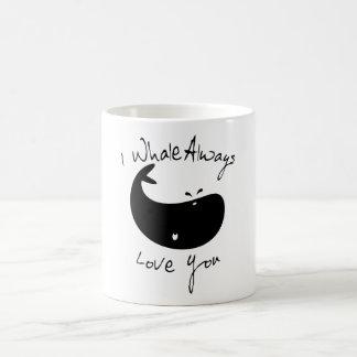 Mug I de baleine amour toujours vous