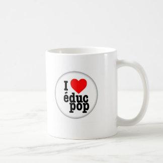 Mug I love educ pop