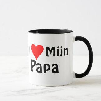 Mug I Love papa boude