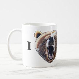 Mug I ours de coeur