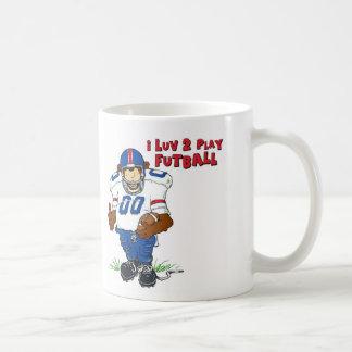 Mug I ours de Futball de jeu de Luv 2