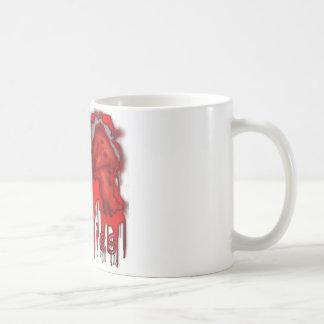 Mug I peau légère de zombis de coeur