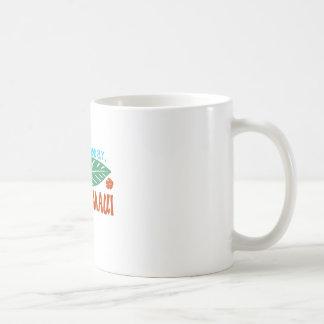 Mug Ici aujourd'hui allé au T-shirt de Maui