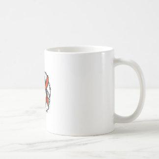 Mug Icône de fil de Barb de drapeau du Texas proscrite