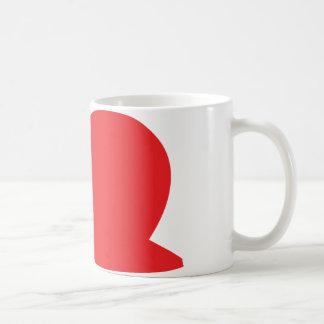 Mug icône rouge de lingot