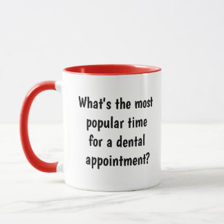 Mug Idée de cadeau de dentiste - calembour drôle plein