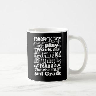 Mug Idée de cadeau pour le 3ème professeur de