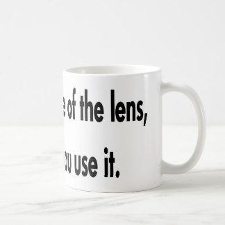 Mug Il est comment vous utilisez la lentille