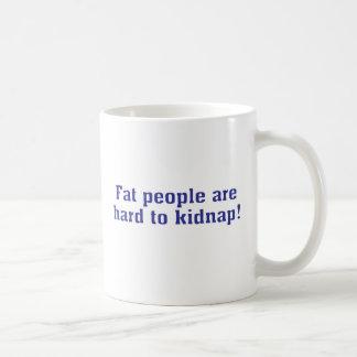 Mug Il est difficile d'enlever de grosses personnes !