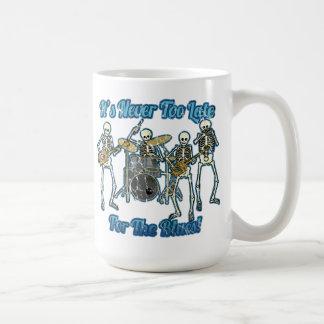 Mug Il n'est jamais trop tard pour les bleus