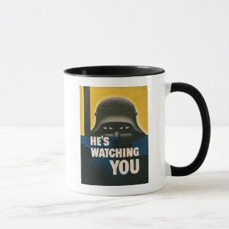Mug Il vous observe