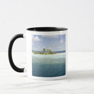 Mug Île de Dhiggiri, atoll du sud d'Ari, Maldives,