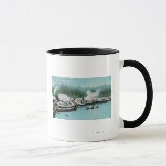 Mug Île de Japonski - indigènes de Potlatchers et de