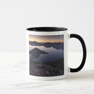 Mug Île de magicien à l'aube, parc national de lac