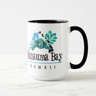 Mug Îles d'Hawaï, tortue et fleur de ketmie