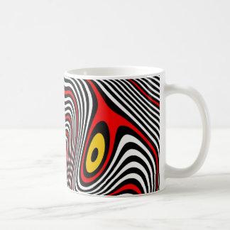 Mug Illusion optique d'aura de migraine