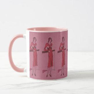 Mug Illustration c1925 de Fashionista